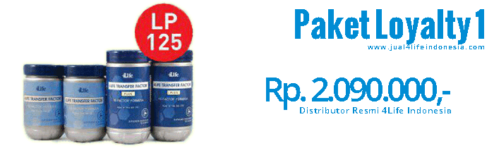 Paket Loyalty 1 - 4Life Transfer Factor