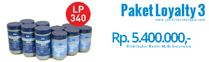 Paket Loyalty 3 - 4Life Transfer Factor Indonesia