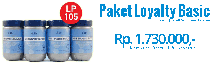 Paket Loyalty Basic - 4Life Transfer Factor Indonesia