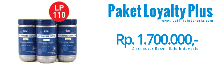 Paket Loyalty Plus - 4Life Transfer Factor Indonesia